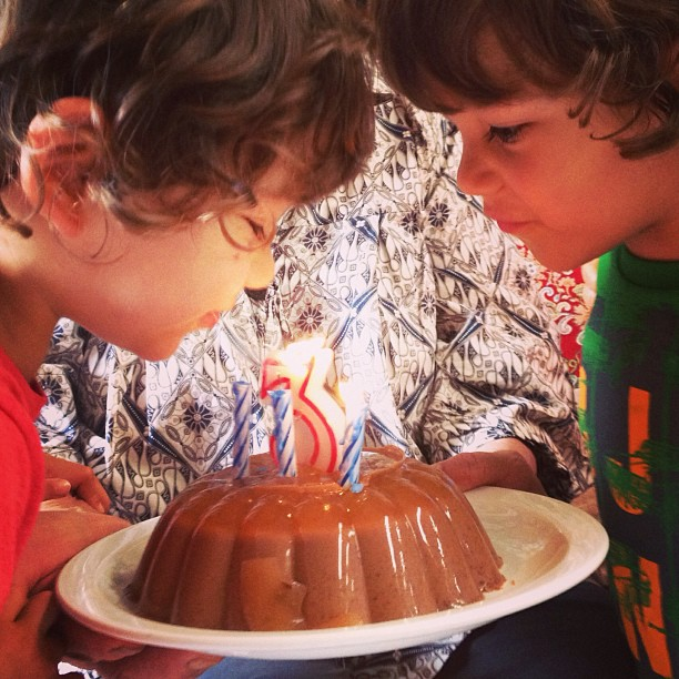Happy 3rd birthday, twinlets