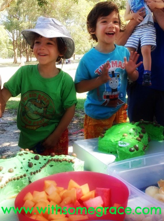 Of Dinosaur Cakes and Meltdowns (1)