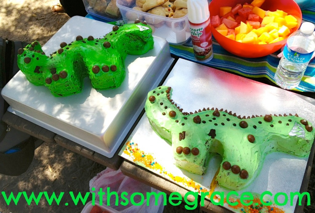 Of Dinosaur Cakes and Meltdowns 2